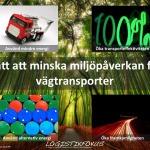 minska miljöpåverkan från transporter
